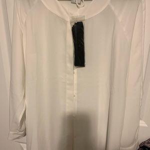 CAbi Tuxedo top  with black tie